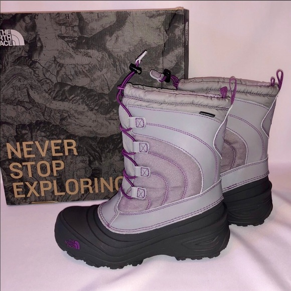 96604288f Women's NorthFace Thermafelt Winter Boots NWT